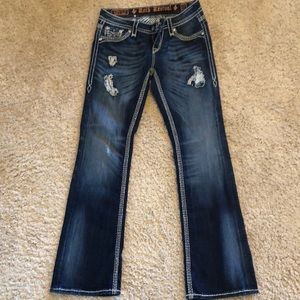 Like new, size 27 Rock Revival jeans